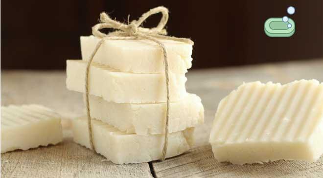 beyaz sabun kalıp